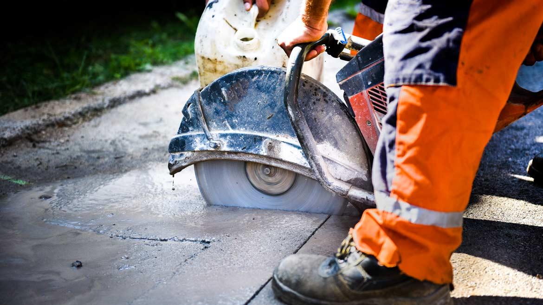 Taglio cemento e Carotaggi